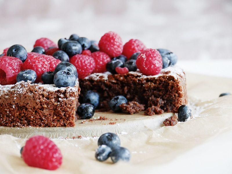 Rezept saftiger Schokoladenkuchen warm
