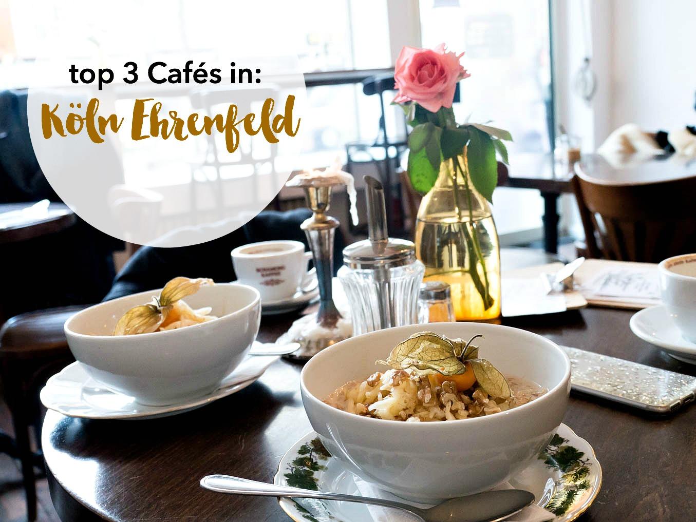 Mein top 3 Cafés in Köln Ehrenfeld.