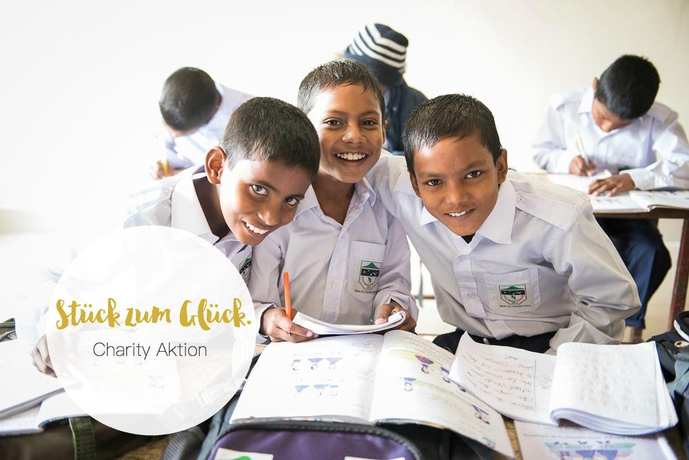 """Mit der Aktion """"Stück zum Glück"""" Kindern in Bangladesch helfen!"""