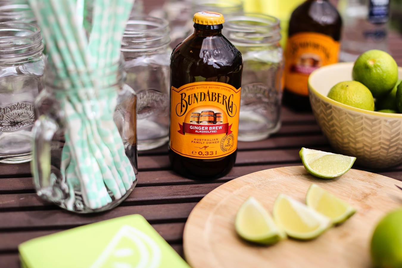 Moscow Mule mit Ginger Brew