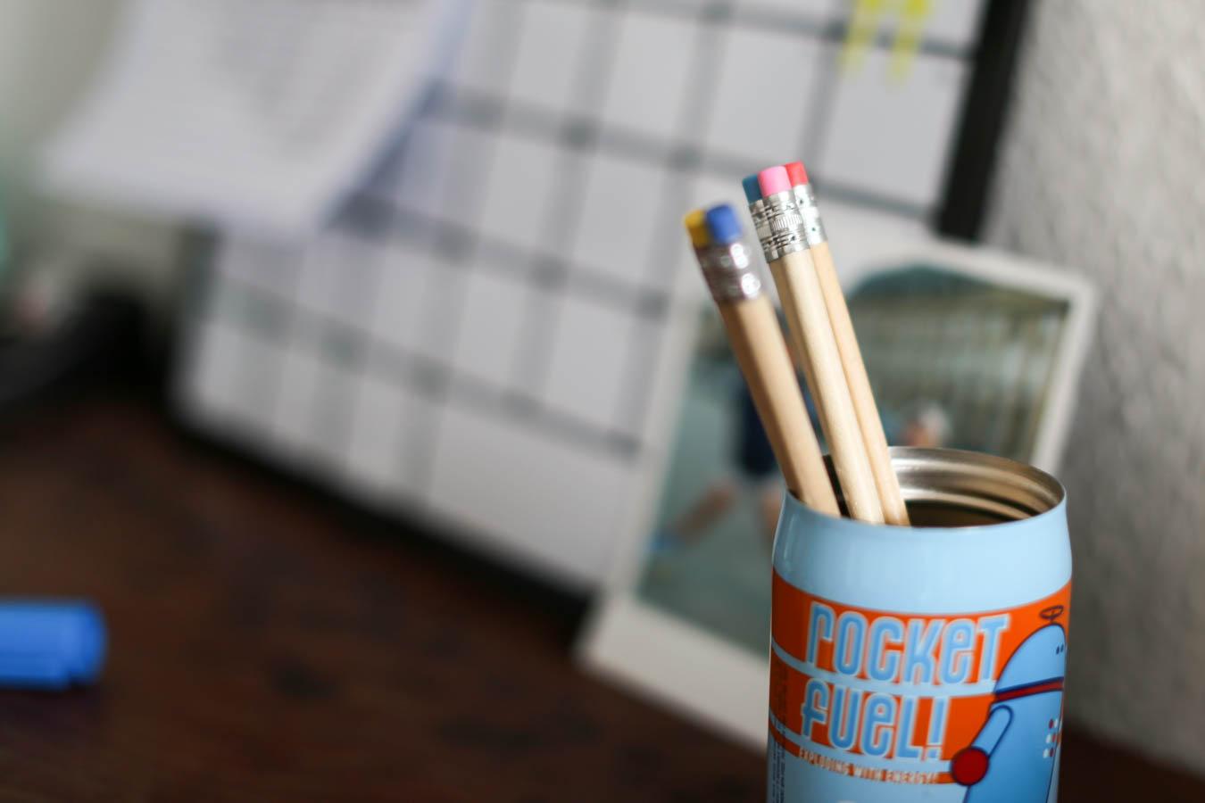 Schreibtisch: Bleistifte Hema
