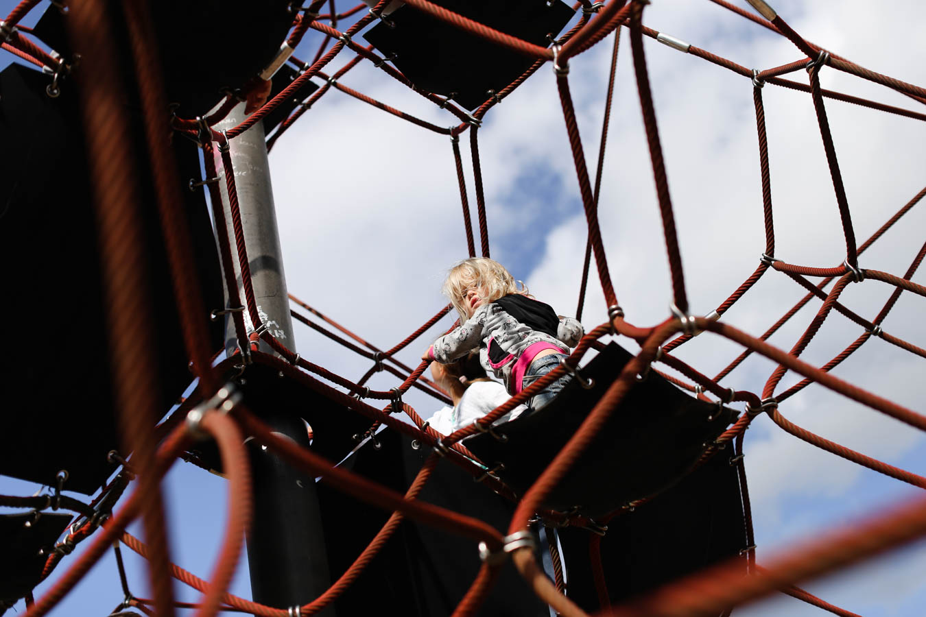 Klettern Rheinpark Köln