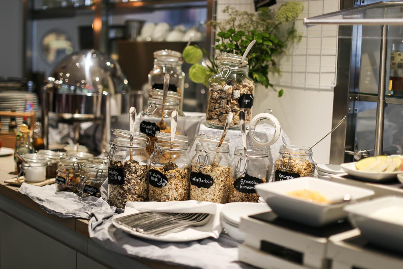 Hoteltest - Frühstück Indigo Hotel