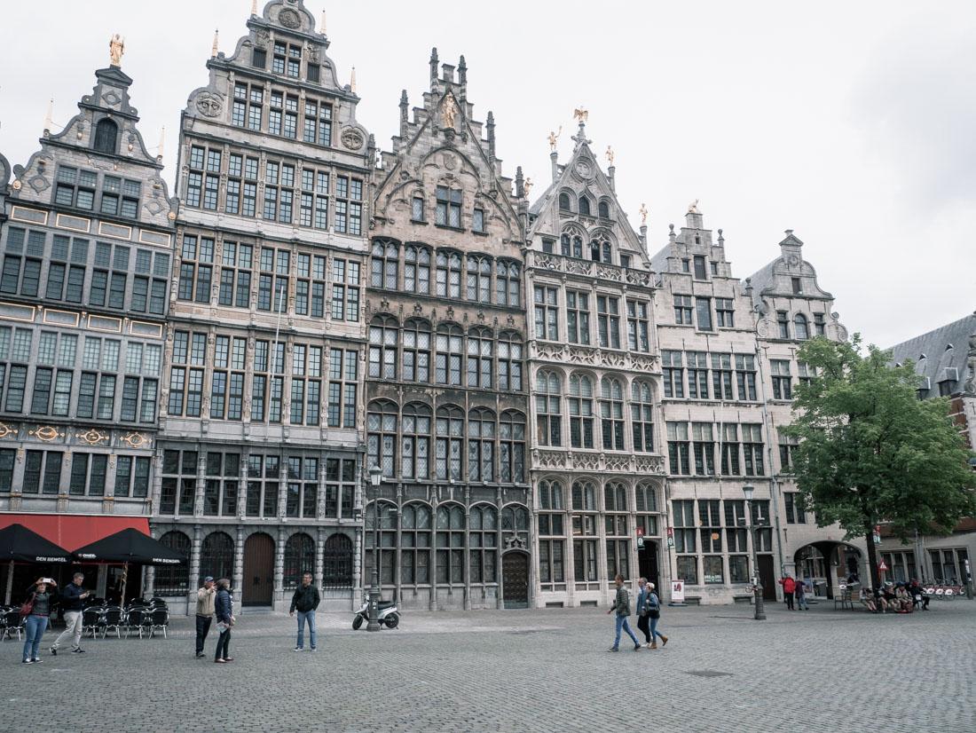 Sightseeing Antwerpen Rathausplatz