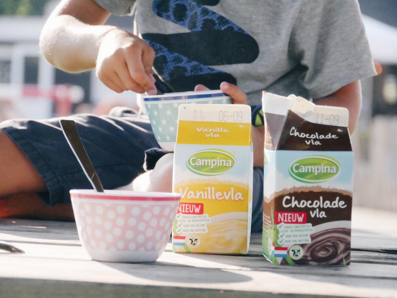 Holland - Vla Schokolade und Vanille