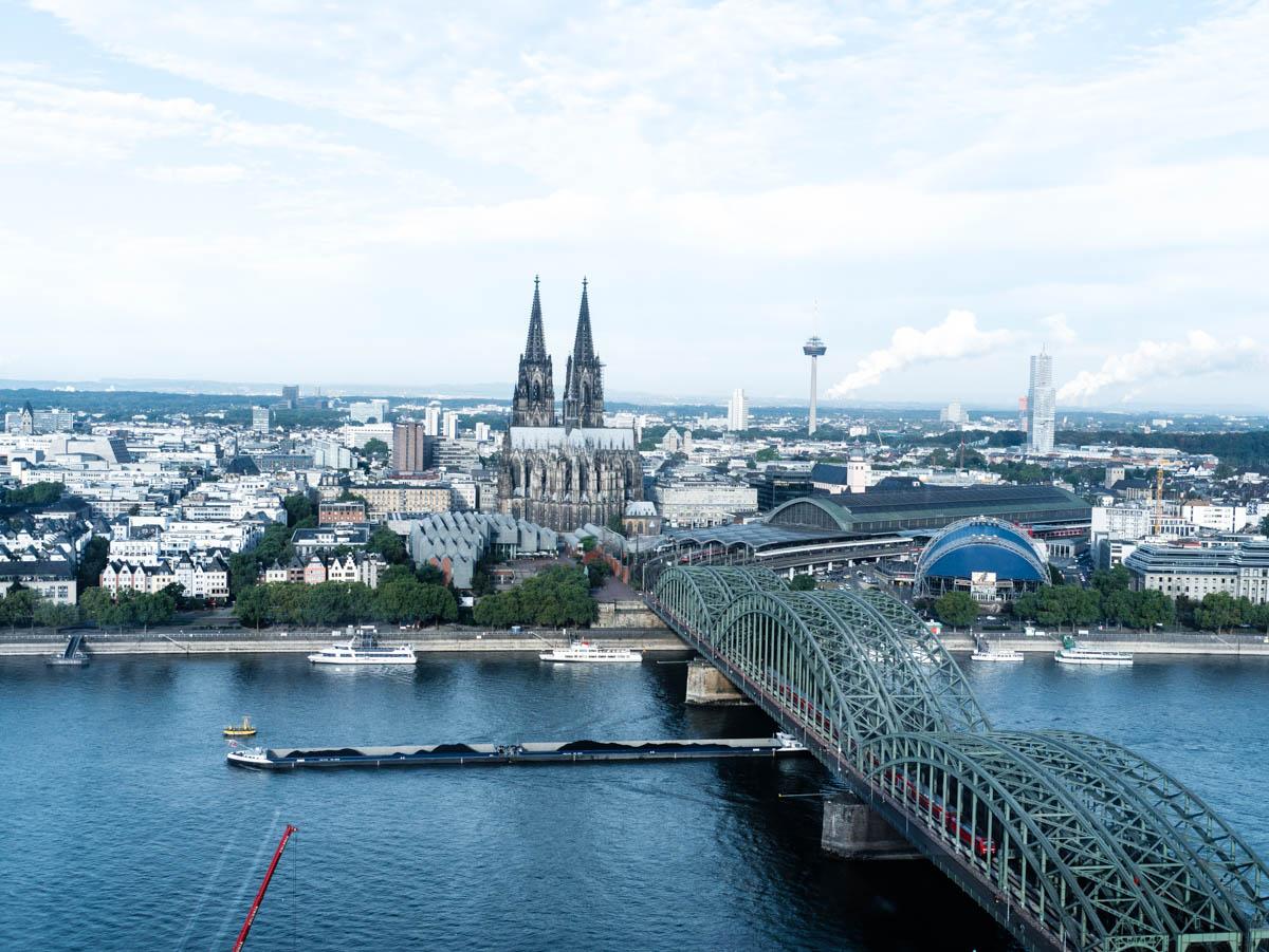 Köln - Aussicht KölnSky