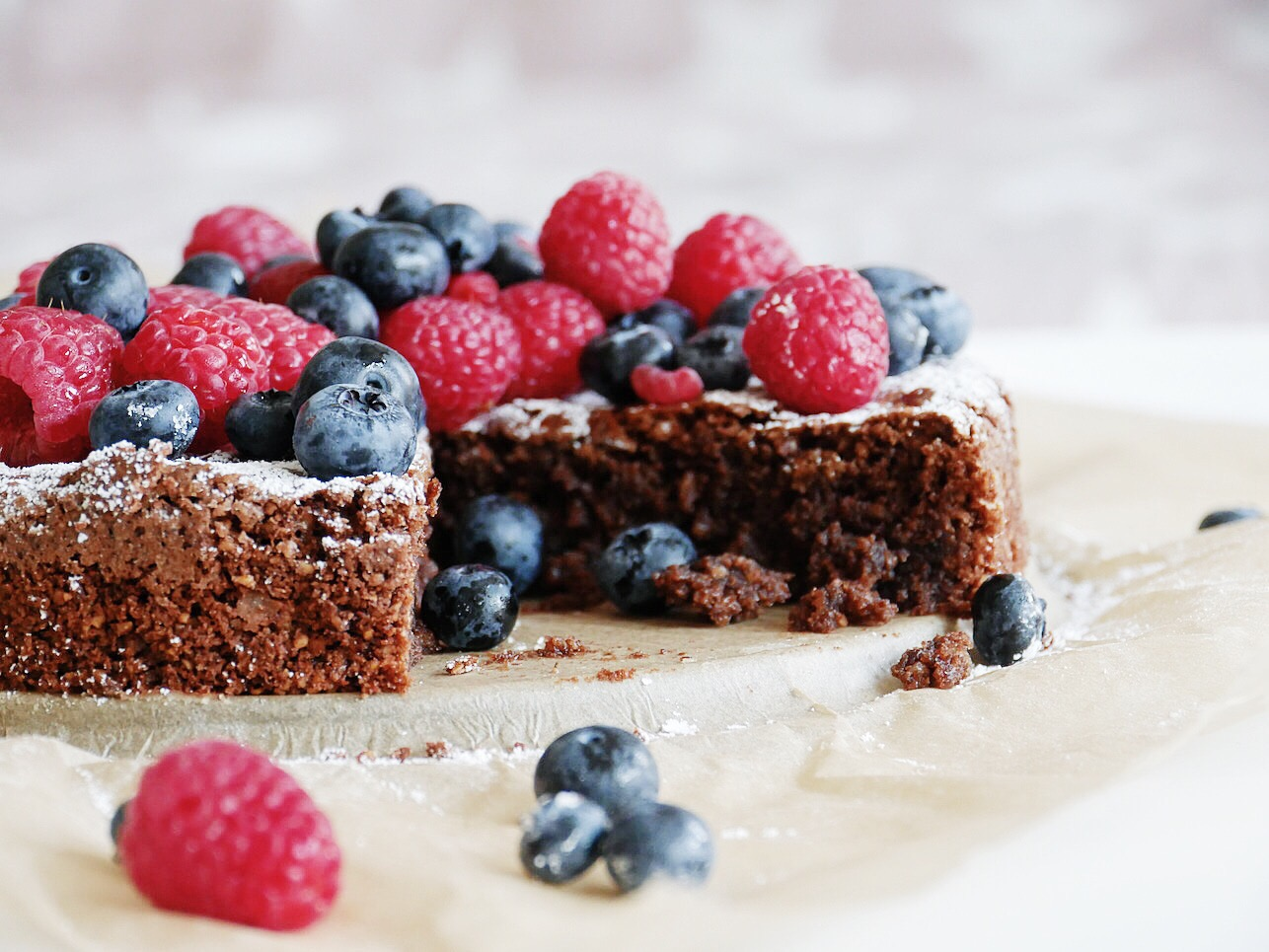 Food | Rezept, saftiger Schokoladenkuchen.