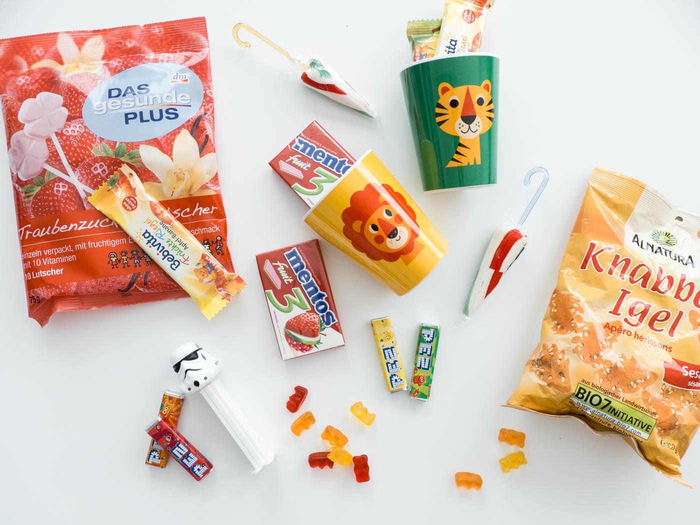 Ideen Inhalt Adventskalenderfür Kinder - Süßes