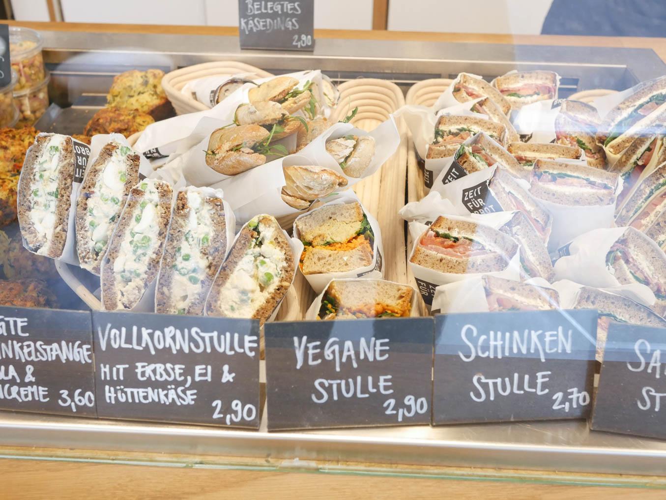 Café in Köln Ehrenfeld - Zeit für Brot - Frühstück