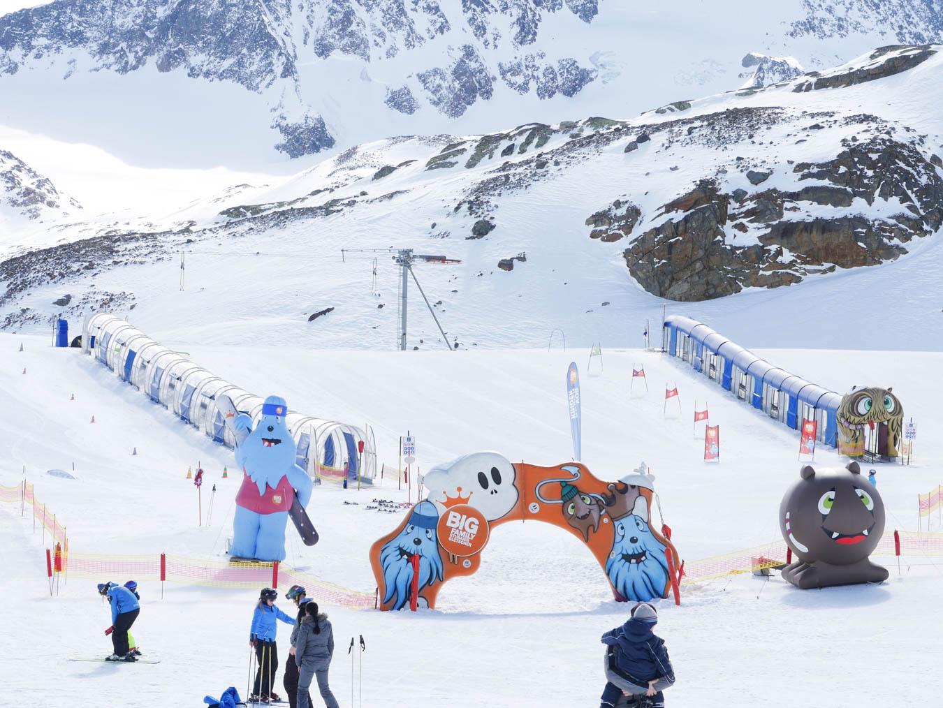 Wo Skifahren mit Kindern