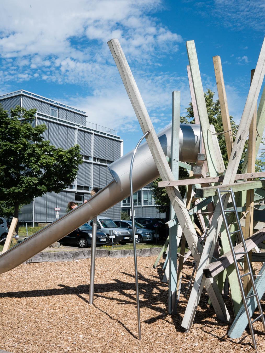 Spielplatz Rhein Bonn