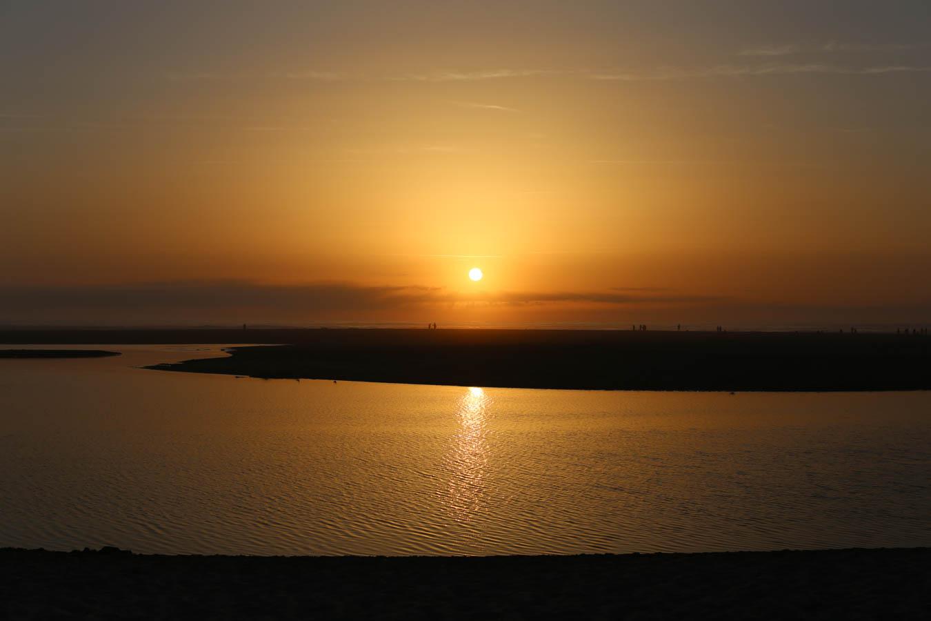 Sonnenuntergang Les Landes
