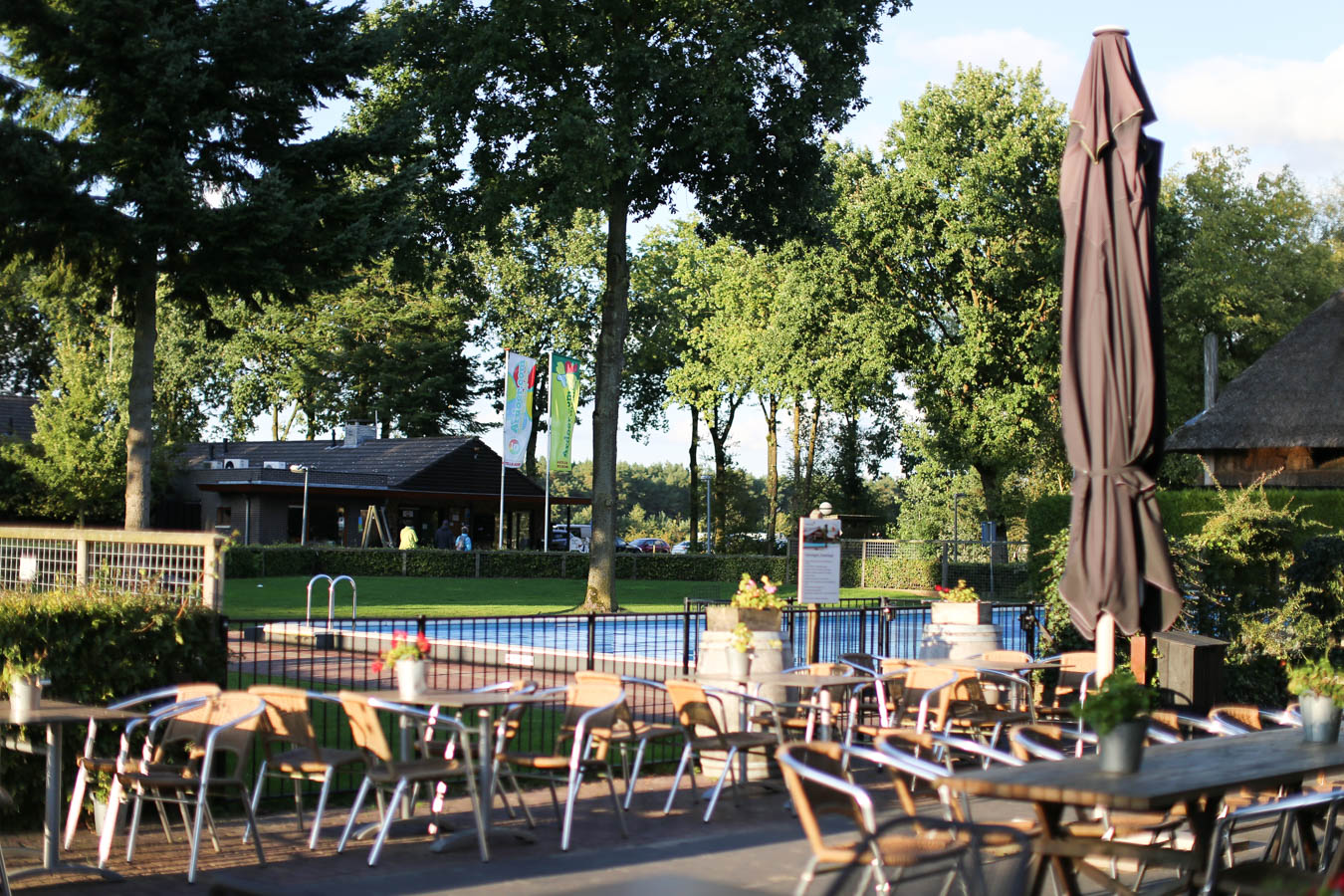 Camping de Wije WereltSchwimmbad - Das andere Holland