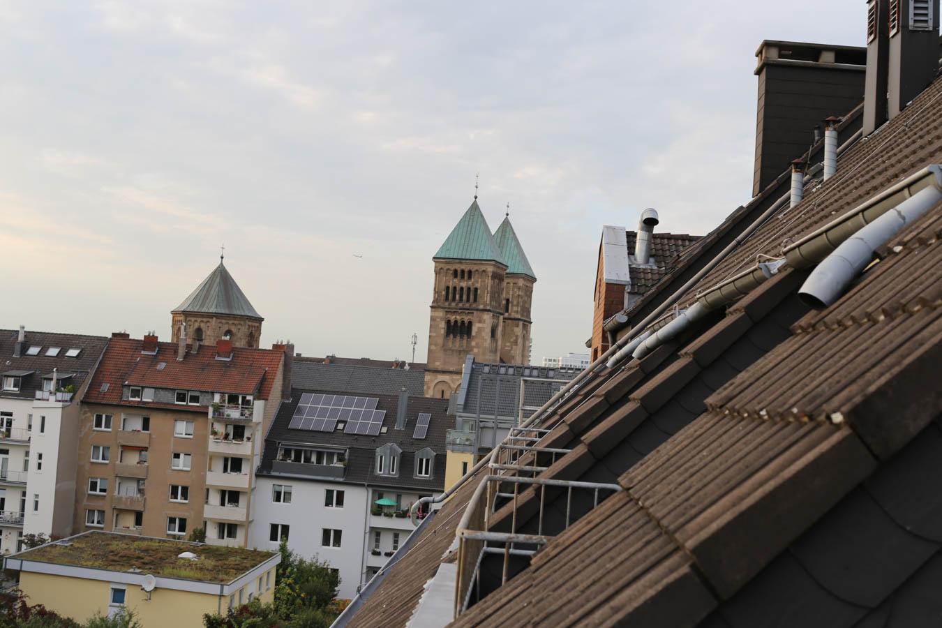 Balkon Indigo Hotel Düsseldorf