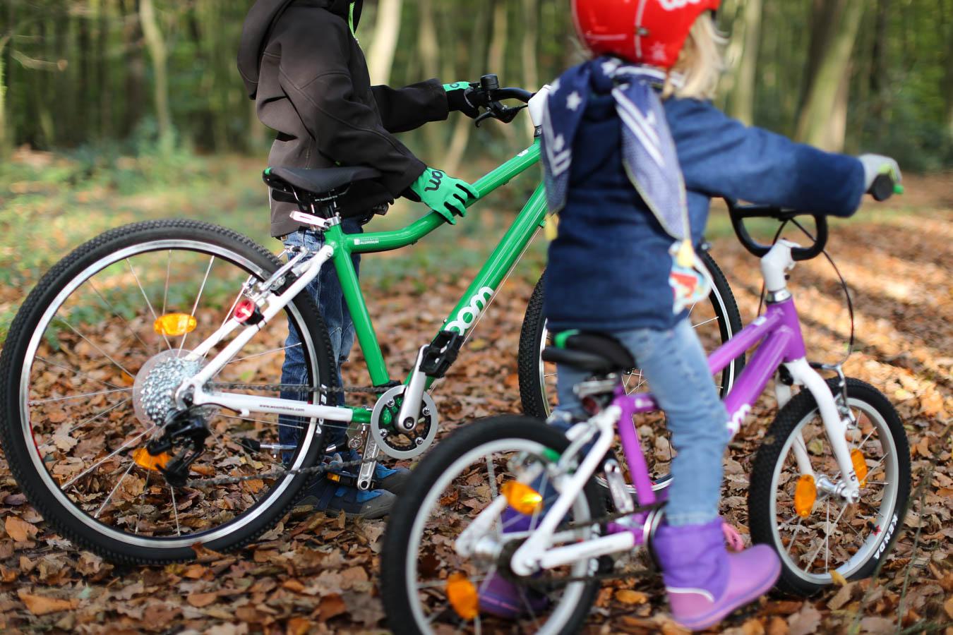 Test Woom Bike für Kinder