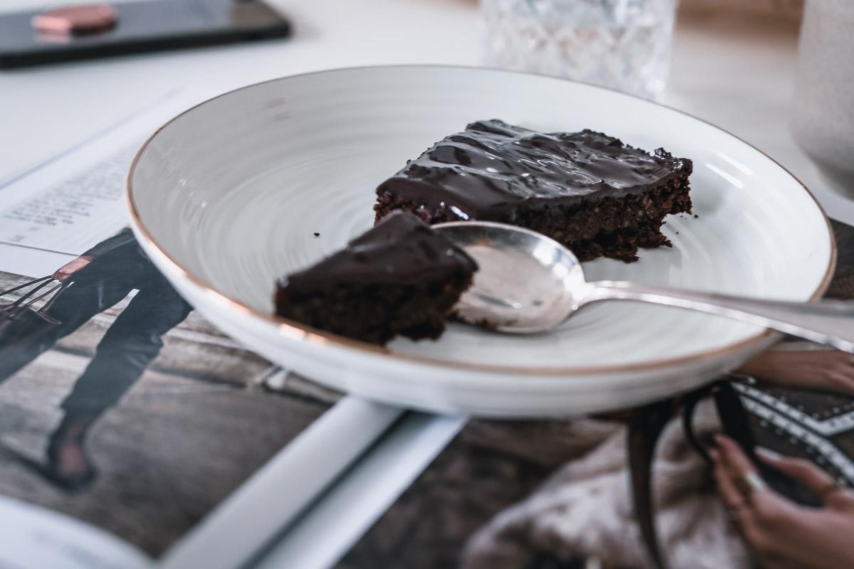 #veganlifestyle | die besten veganen brownies. Süßkartoffel Brownies.