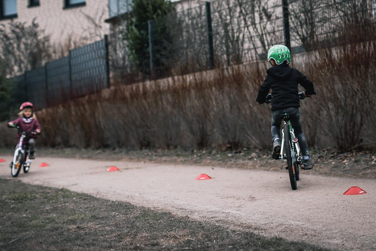 Fahrradtraining für Kinder