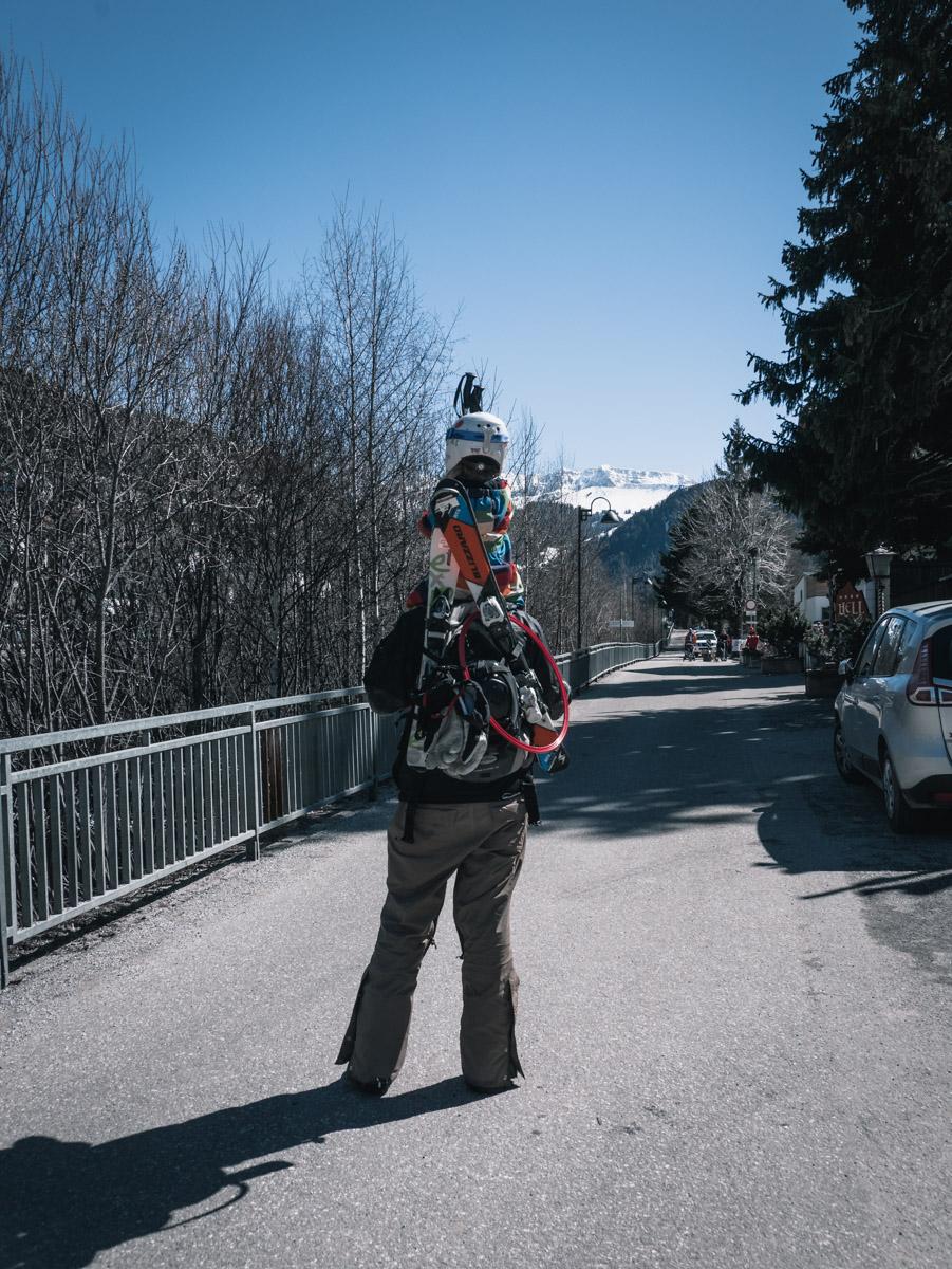 Skifahren mit Kindern // Dolomiten