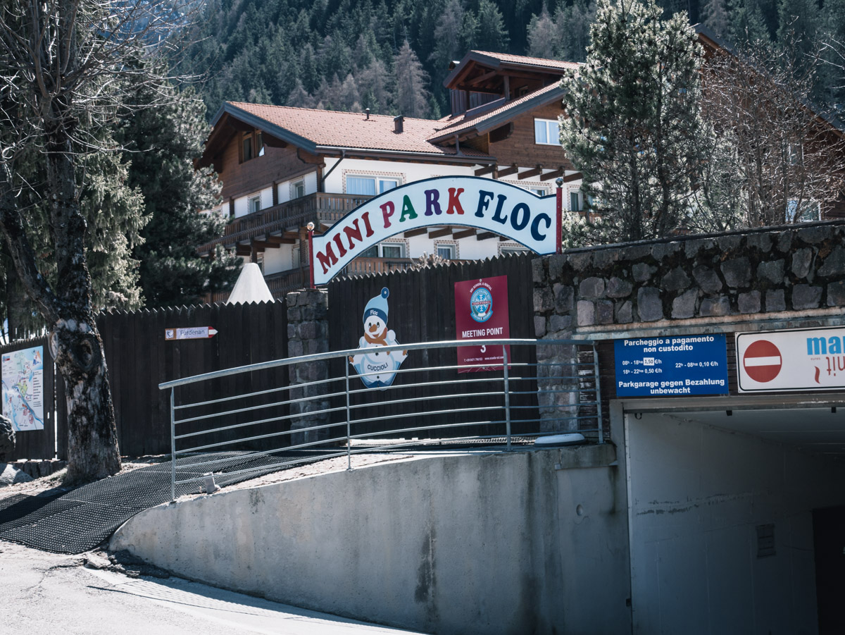 Mini Park - Skifahren für die Kleinsten