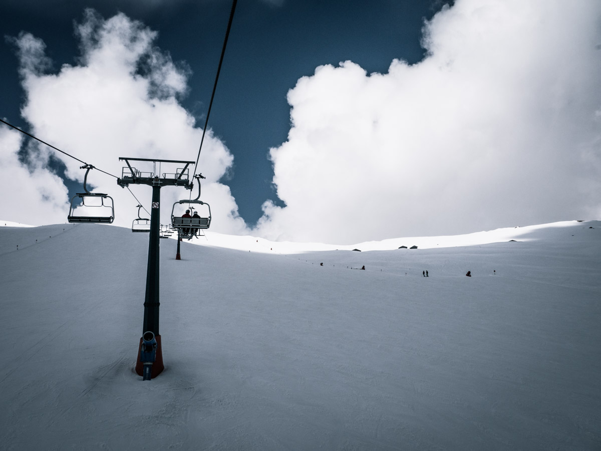 Reisebericht Dolomiten - Pisten