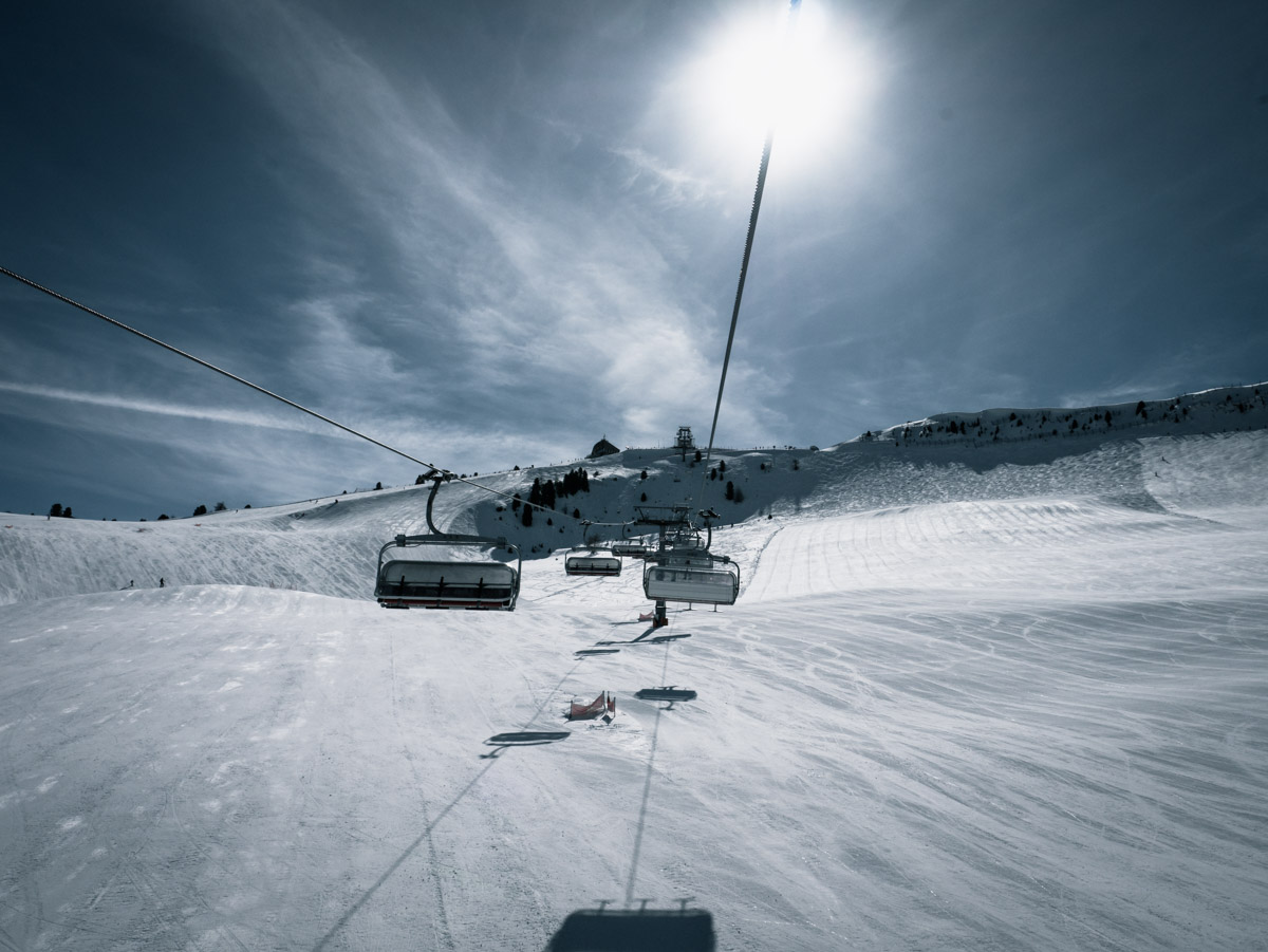 Kaiserwetter in den Dolomiten