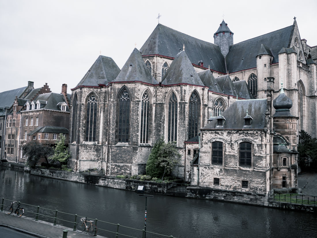 Reisebericht Gent - Kirchen