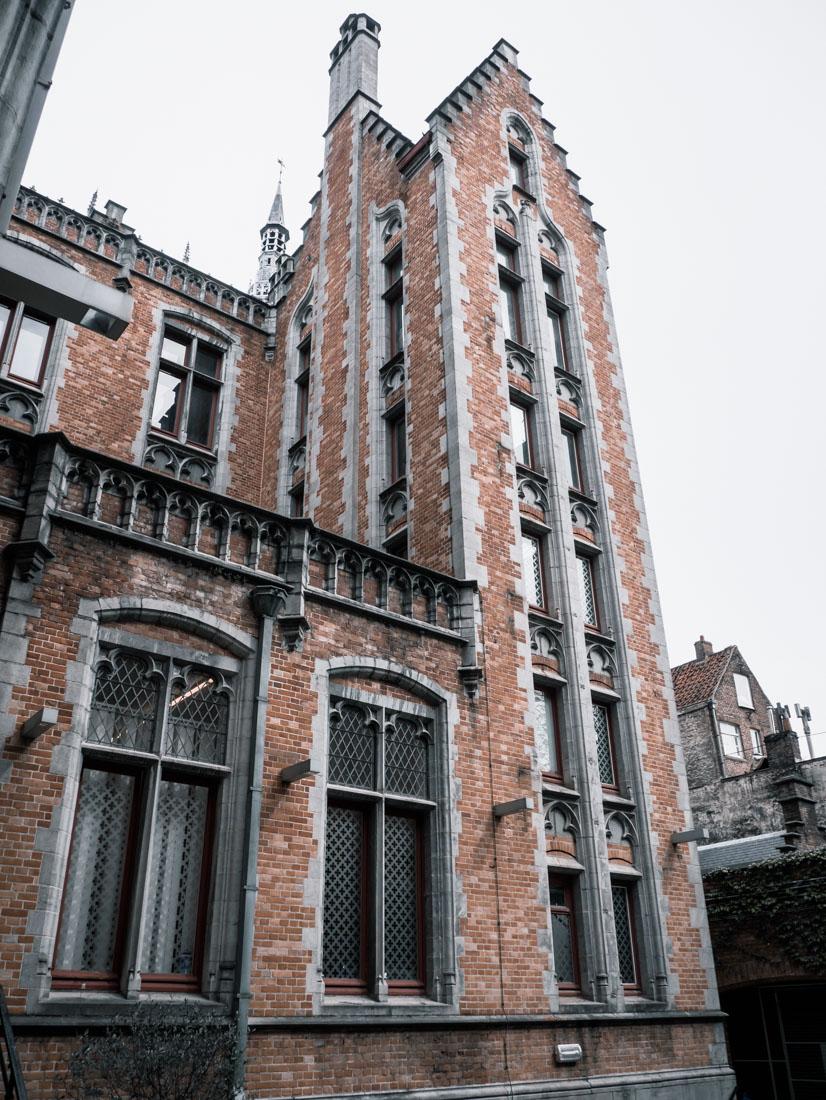 Reisebericht Brügge - historische Bauten