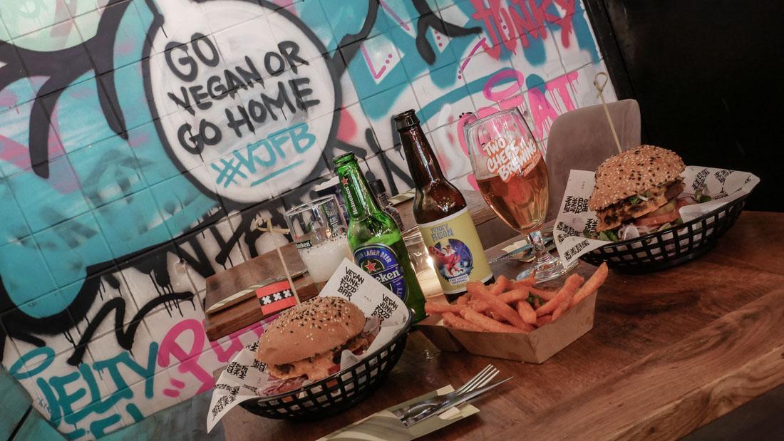 Reisebericht Amsterdam - veganes Fast Food