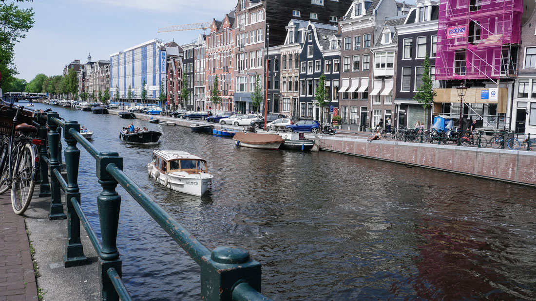 Reisebericht Amsterdam - Grachten