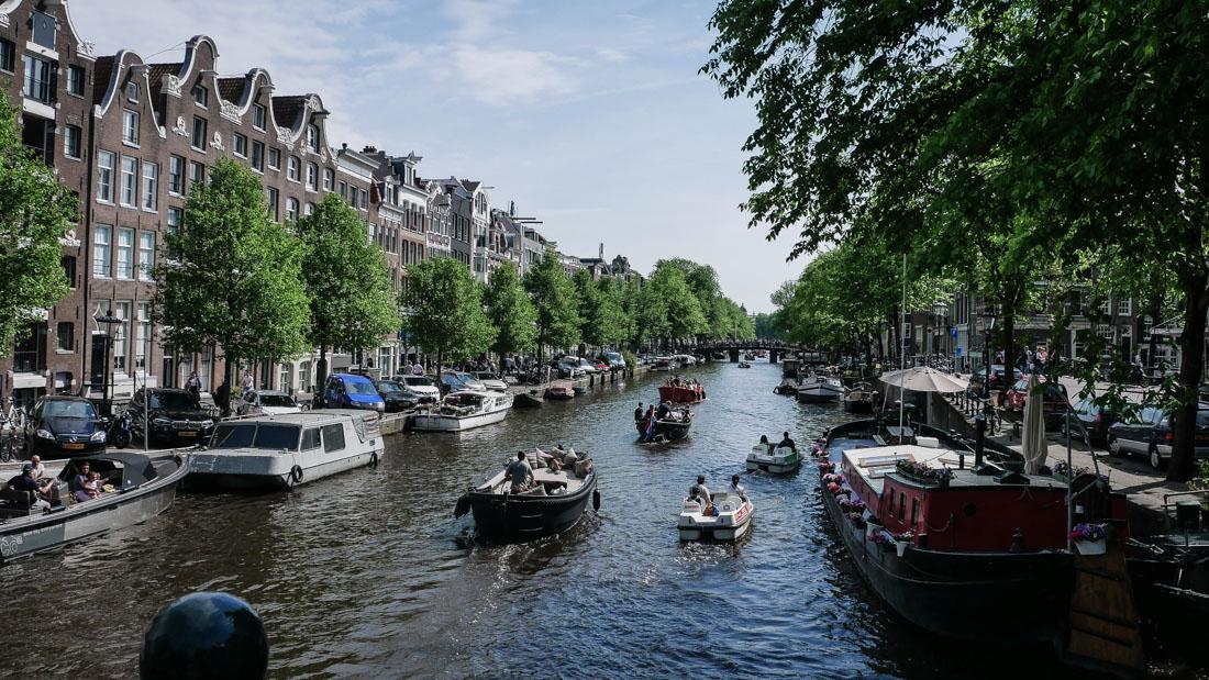 Reisebericht Amsterdam - die Grachten