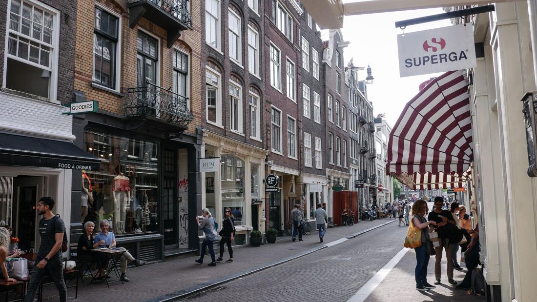 Einkaufen in Amsterdam