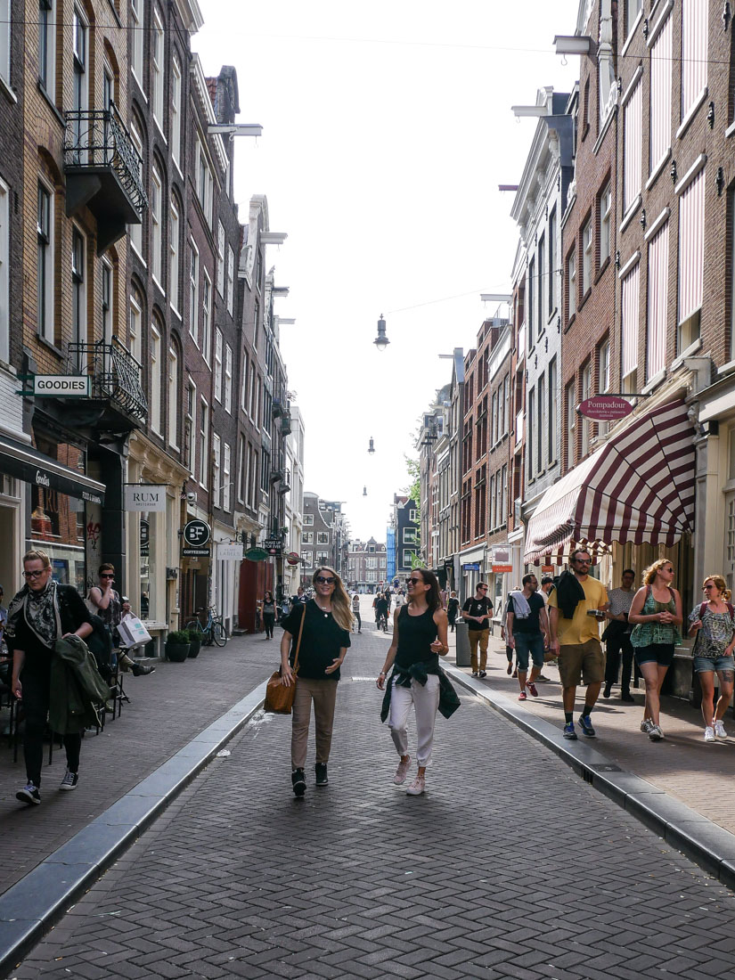 Shoppingmeile Amsterdam