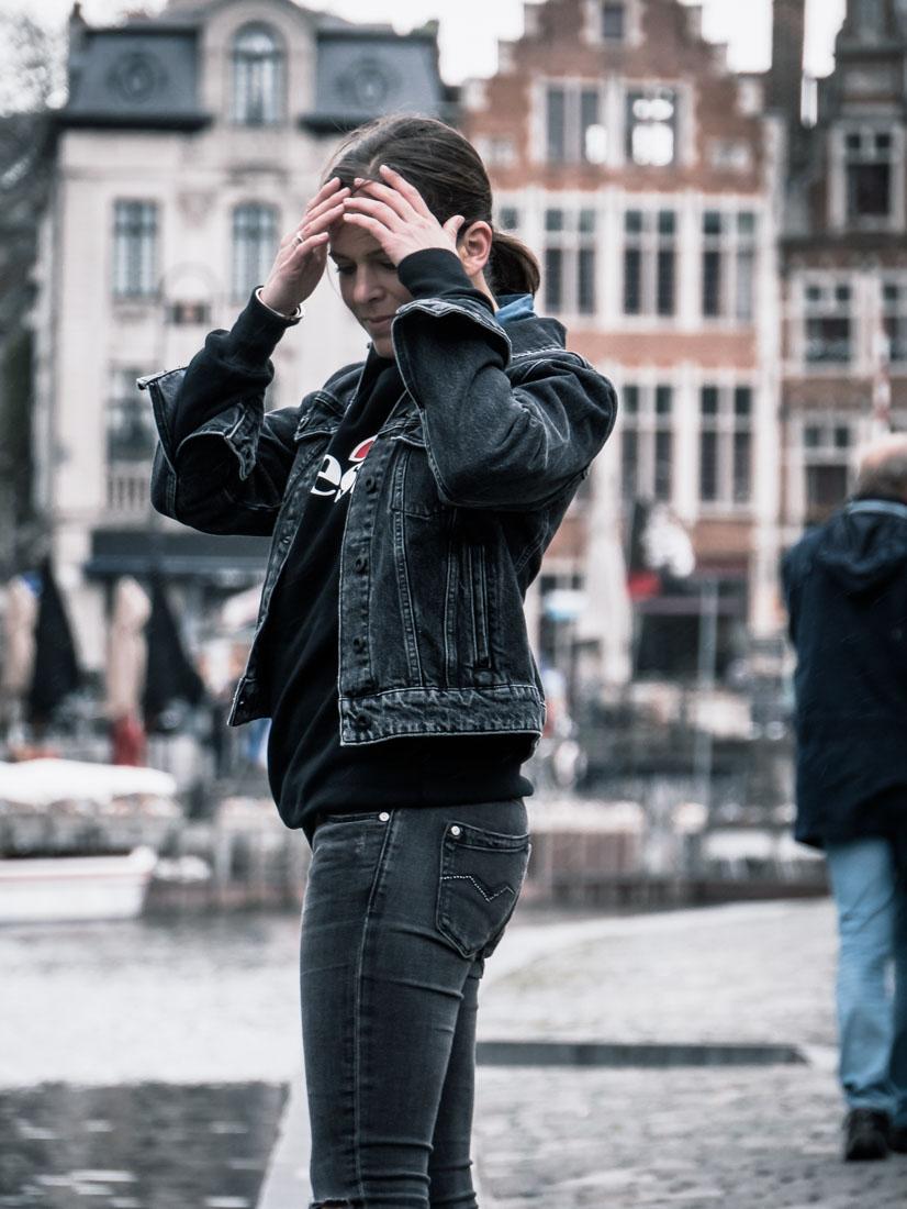 Streetstyle - Ellesse black