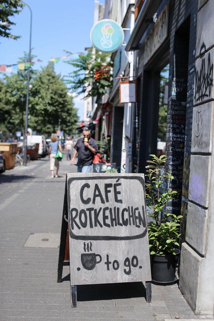 Veganes Café Köln. Café Rotkehlchen.