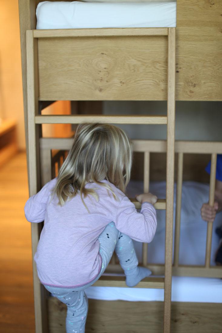 Kinderzimmer im Familienparadies Sporthotel Achensee