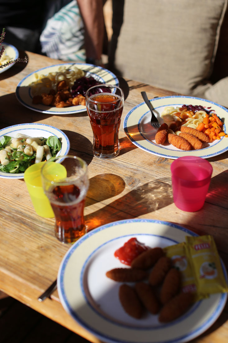 Mittagessen im Familienparadies Sporthotel Achensee