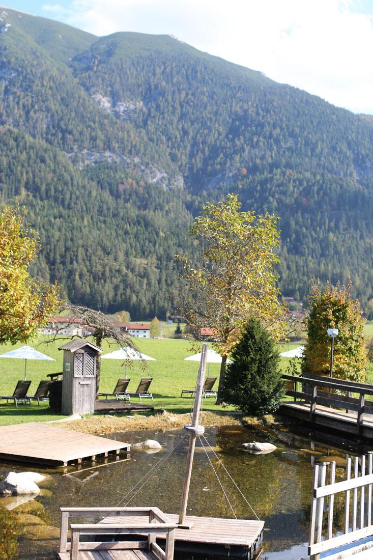 Badeteich im Familienparadies Sporthotel Achensee