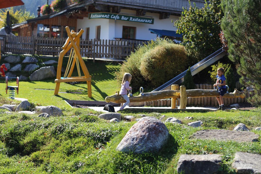 Spielplatz im Familienparadies Sporthotel Achensee