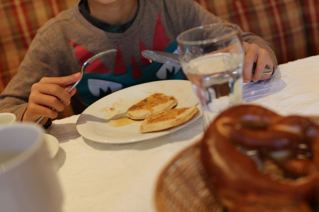 Frühstück im Familienparadies Sporthotel Achensee