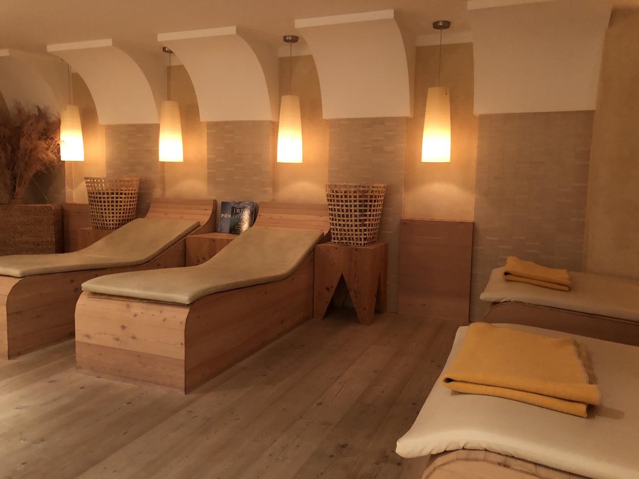 Sauna im Familienparadies Sporthotel Achensee