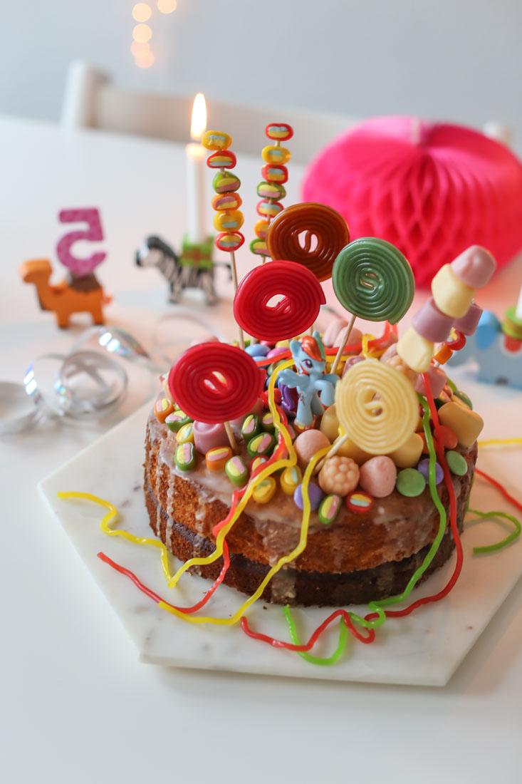 Einhorn-Kuchen Kindergeburtstag