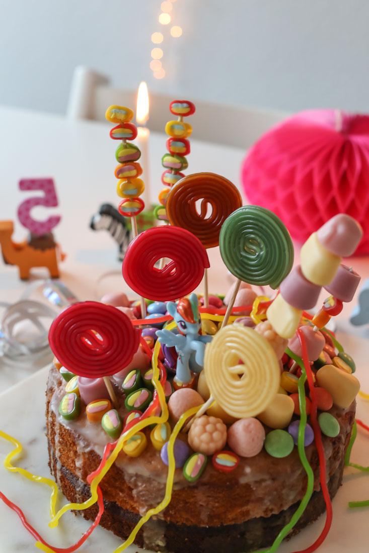Einhorn-Kuchen