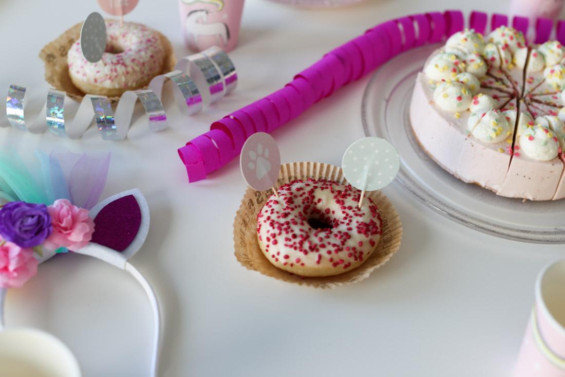 Eine Einhorn Party Zum Kindergeburtstag Spiele Deko Und Kuchen