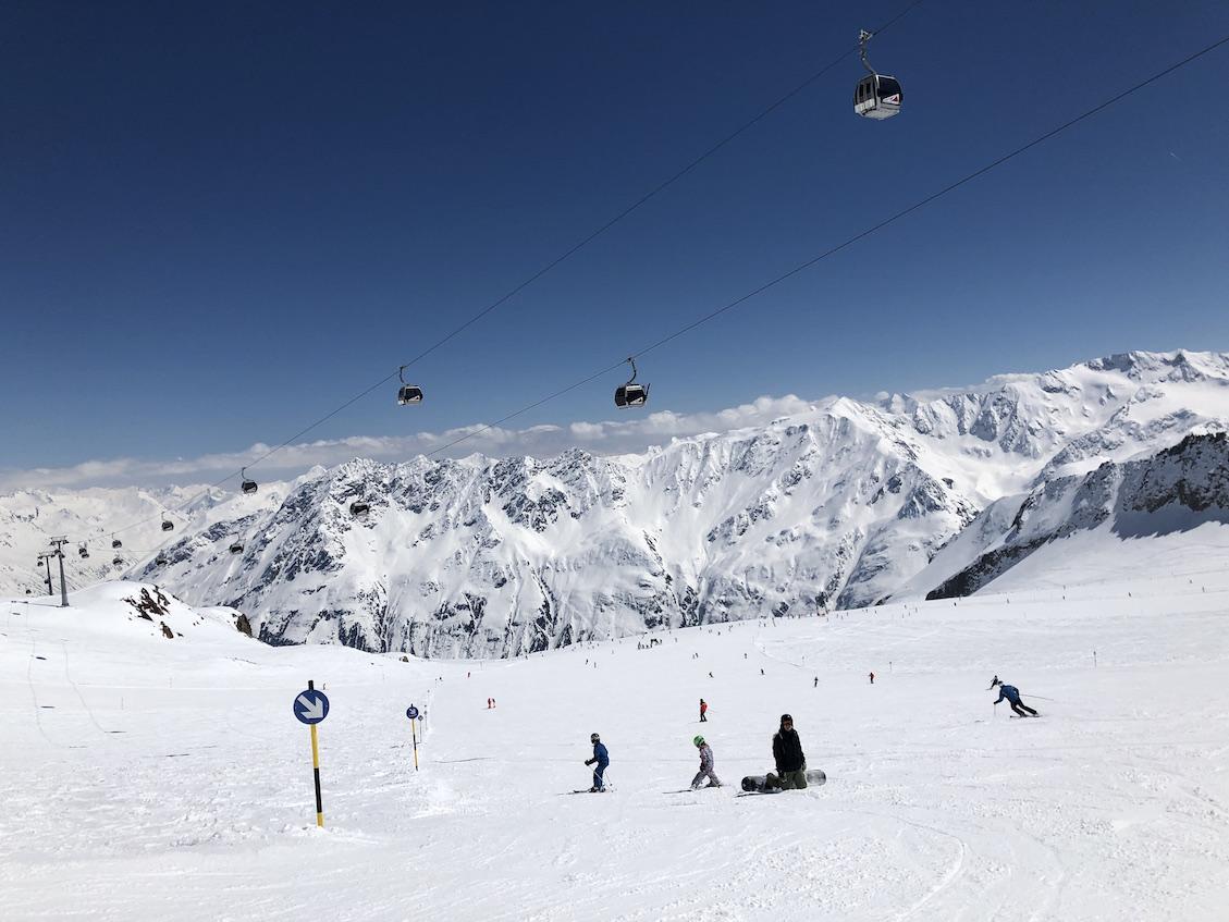 #Travelguide | Skifahren mit Kindern in Sölden im Ötztal.