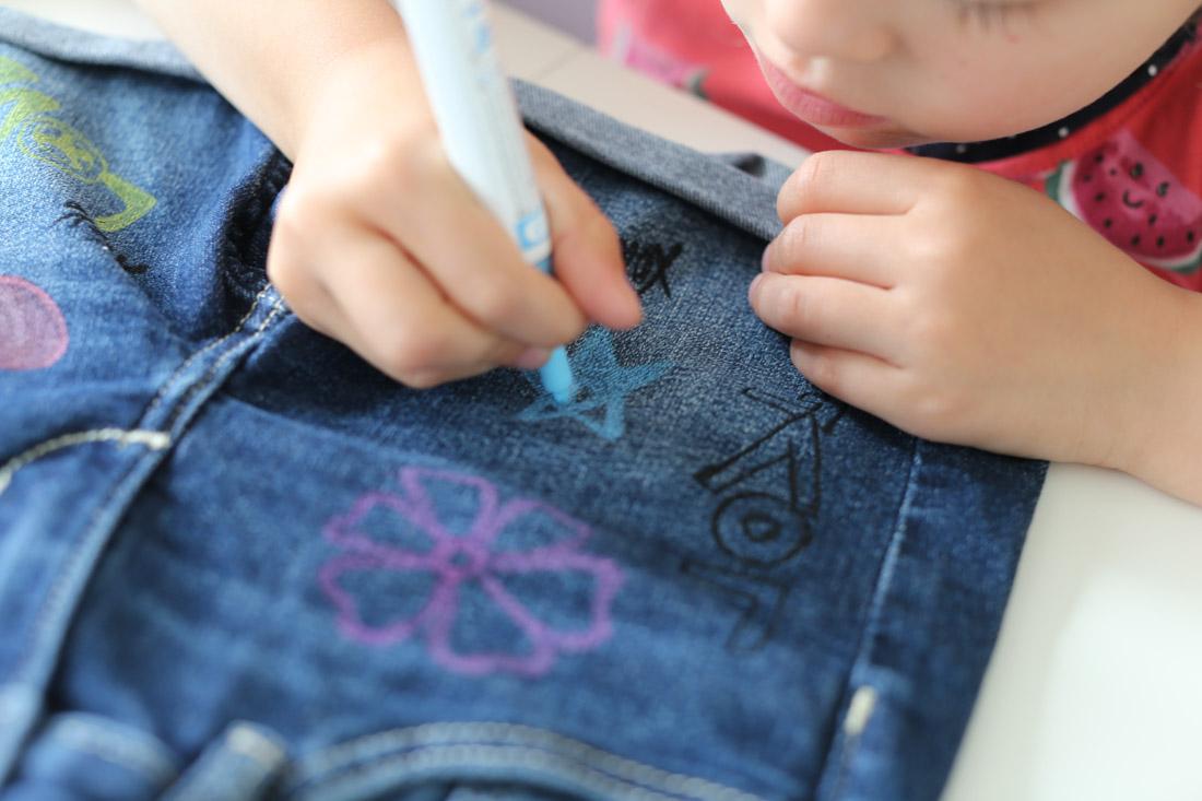 DIY Summer-Jeansshorts fürs BBgirl. Diese Shorts machen Lust auf Sommer!