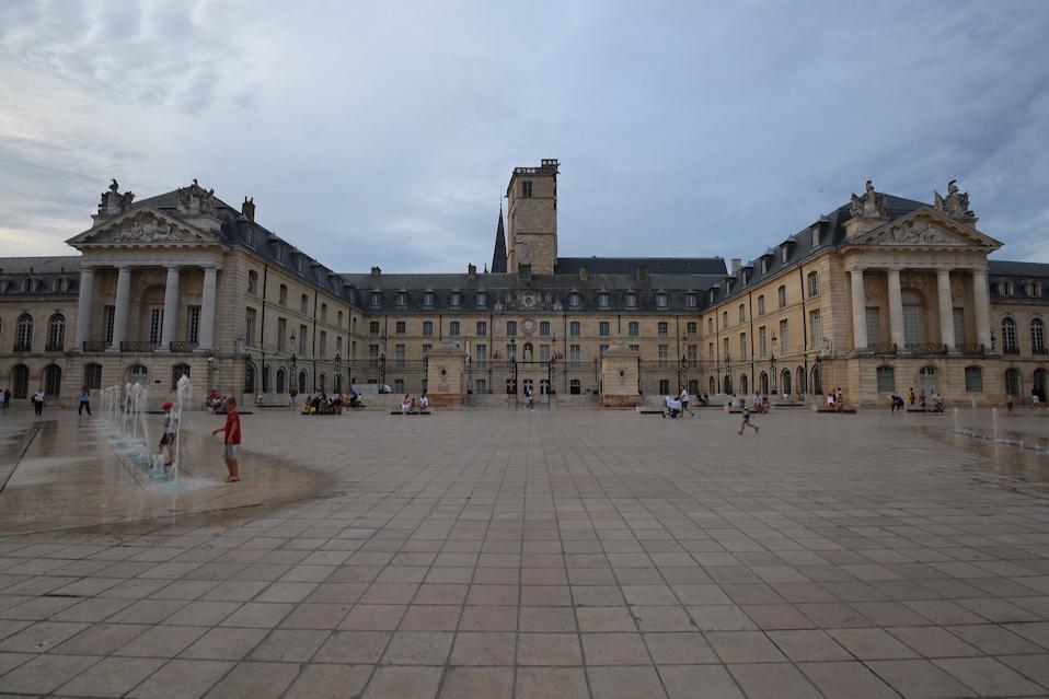 Sightseeing in Dijon Frankreich