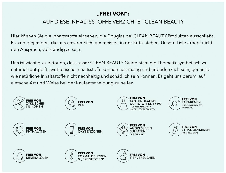 Inhaltsstoffe, die nicht in Clean Beauty gehören.