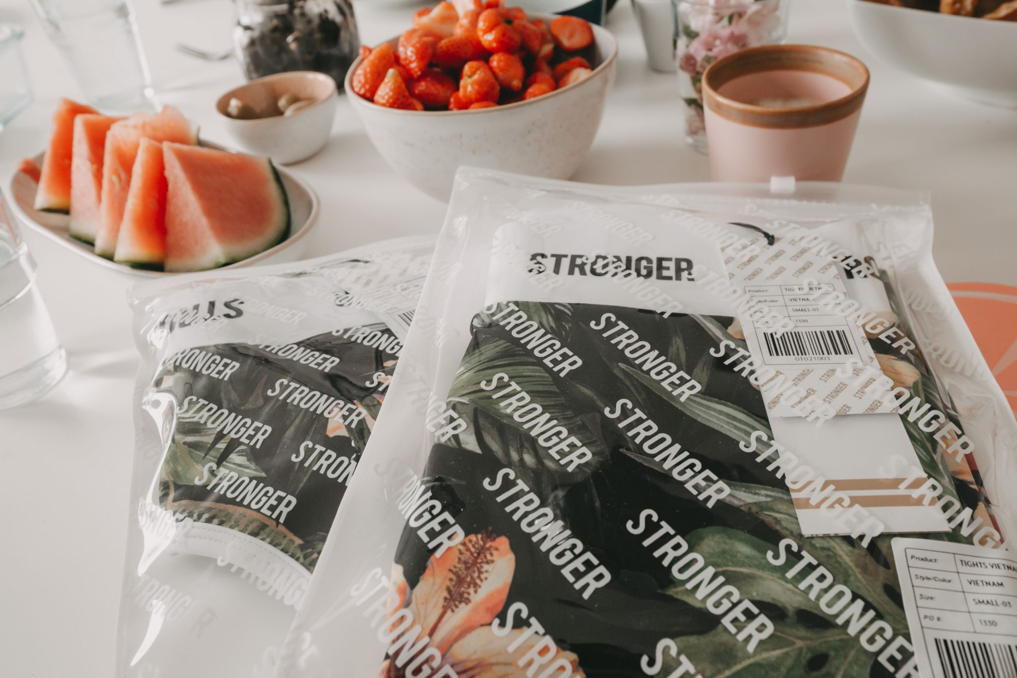Fitness Styles Stronger Label