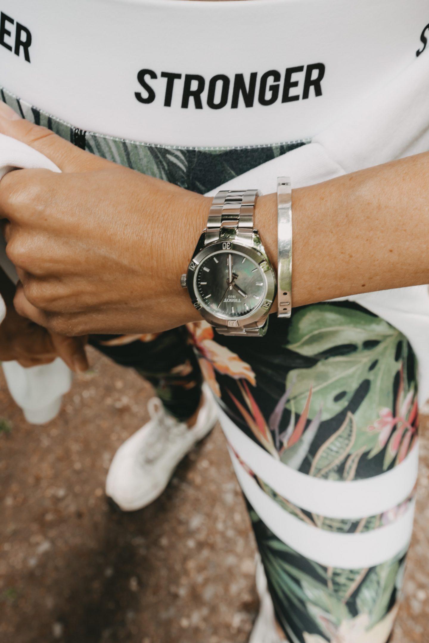 Uhr für Frauen in Silver von Tissot
