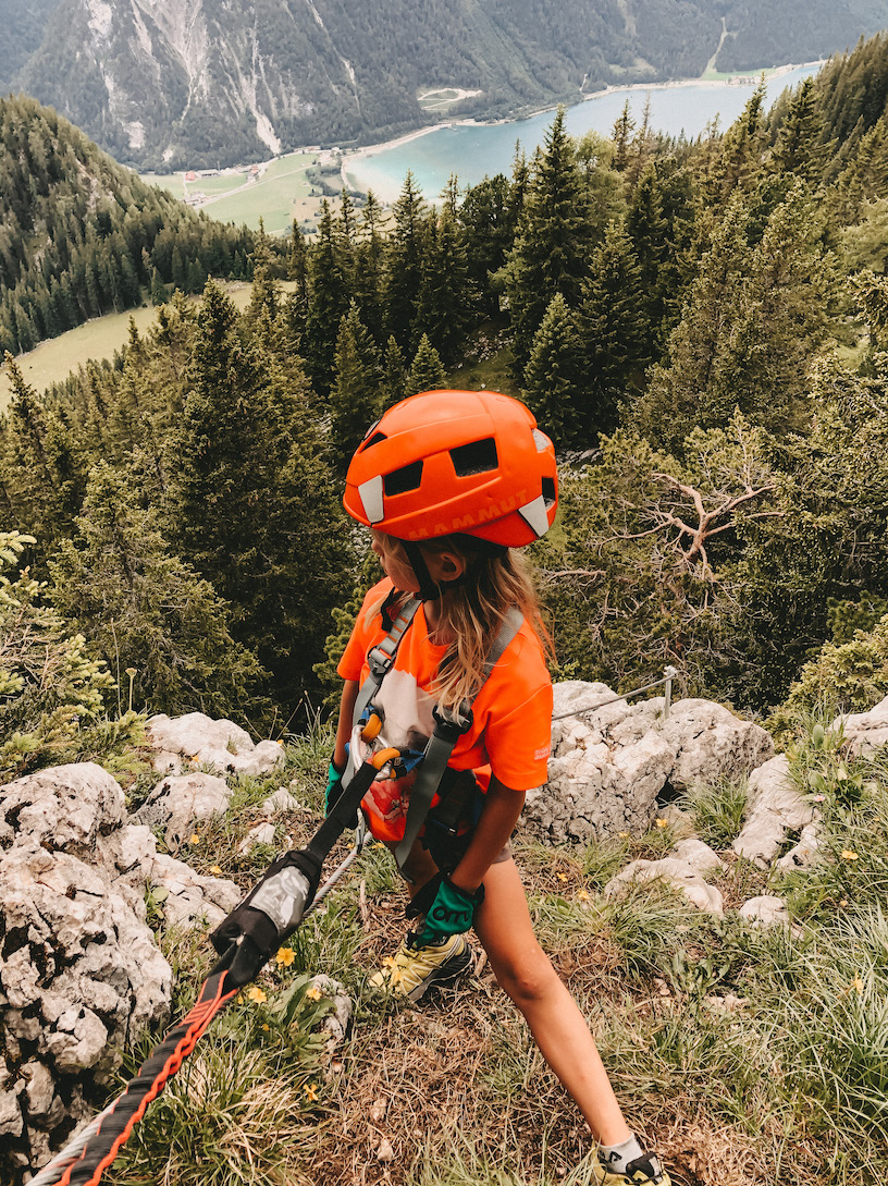 #Reisen || Wandern, Klettern und baden am Achensee mit Kindern.